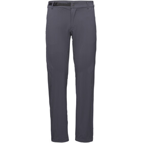 Black Diamond Alpine Light Pantalones Hombre, carbon